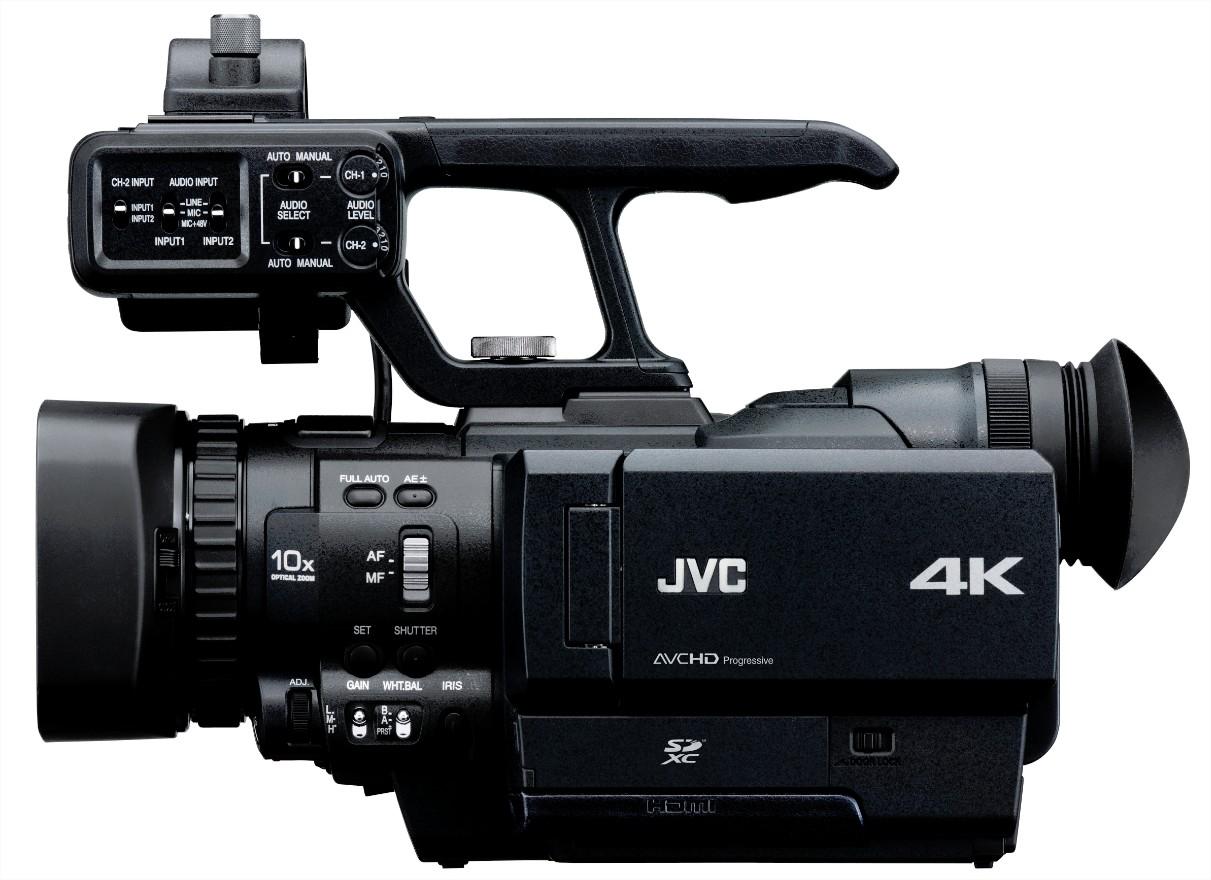 4K Portátil da JVC Chega em Março | Cinegrafistas